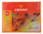 Blok Do Akryli Canson Acrylic Drobnoziarnisty 400 g