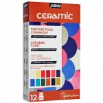 Farby do Ceramiki Na Zimno Explorer 12X20 ml Pebeo Ceramic