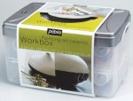 Zestaw do Malowania Ceramiki Pebeo Ceramic Workbox 10x45 ml