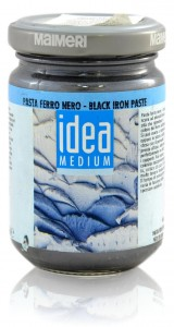 Czarna Pasta Żelowa Idea Medium 125 ml