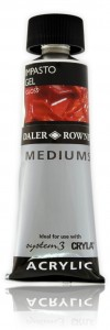 Impasto do Akryli Daler Rowney Gel Gloss 75 ml
