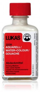 Masking Fluid Watercolour Lukas 50 ml