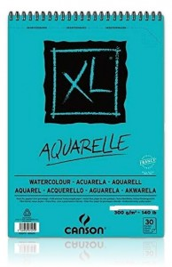 Blok do Akwareli Canson Xl Aquarelle 300 g Drobnoziarnisty