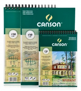 Blok Rysunkowy Canson Student 150 g