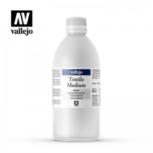 Medium Akrylowe do Tkanin Vallejo 500 ml
