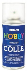 KLEJ PERMANENTNY HOBBY COLLE SPRAY 150ML GHIANT