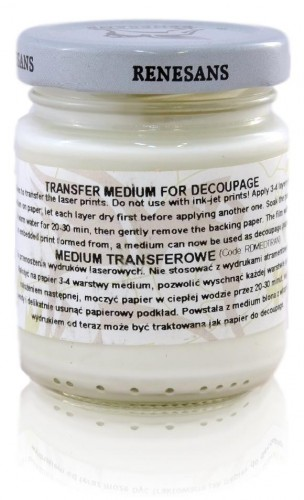 Medium Transferowe do Decoupage Renesans 110 ml